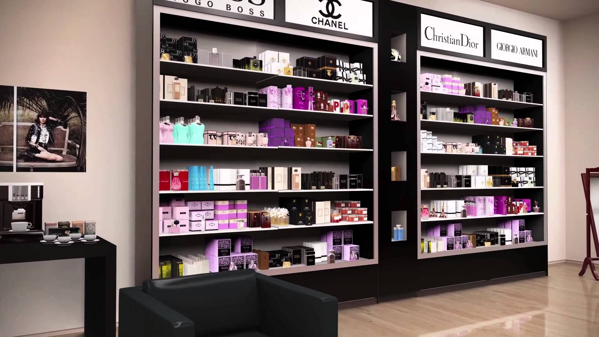 Perfumes Stores