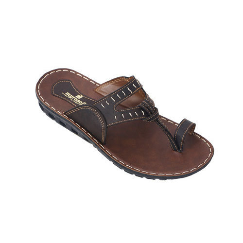 Men Synthetic Leather Slipper